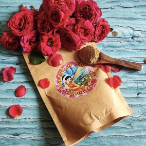 Rose Petals Bath Powder 100 grams